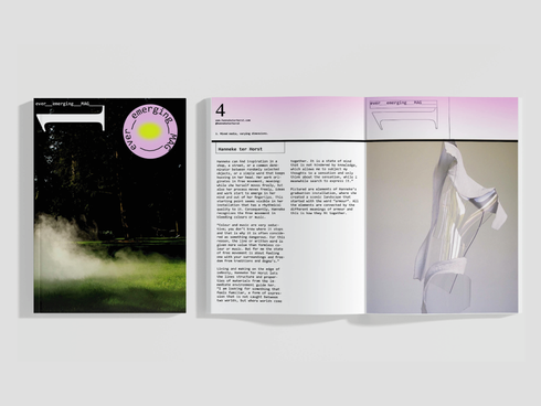 ever_emerging magazine | concept, copy and curation