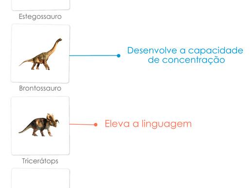Flashcards - Dinossauros
