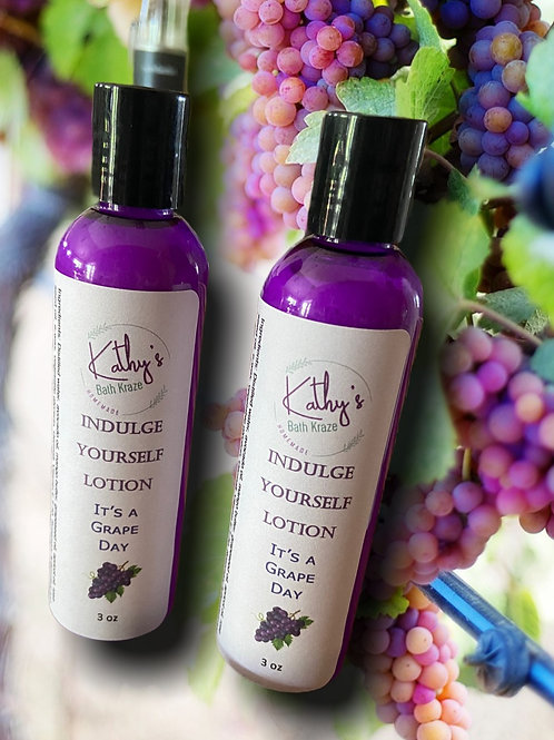 Indulge Yourself Lotion It's a Grape Day - 3 oz
