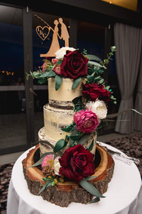 Custom Made Rustic Cake Florals