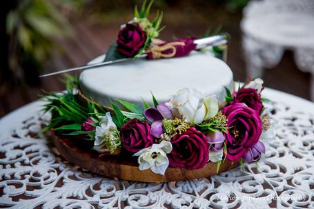 Cake Floral Garland