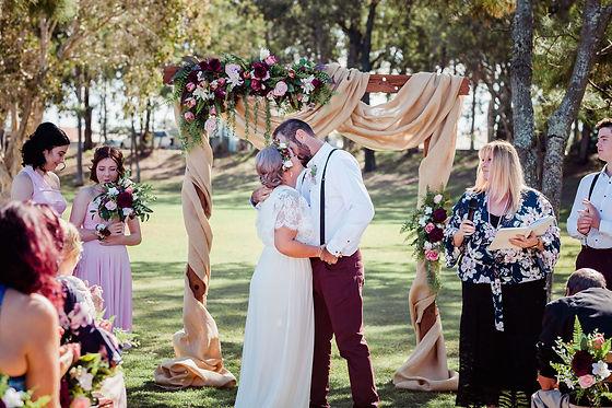 a rustic affair floral designs  wedding