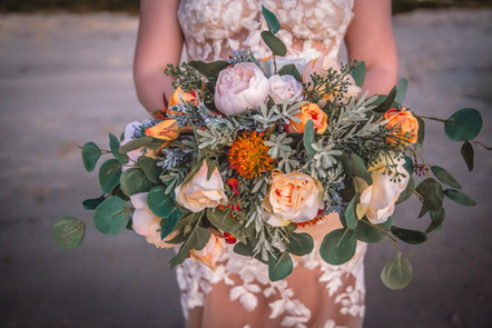 An Artificial Organic Styled Bouquet