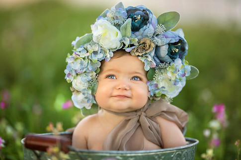 Sitter Session Floral Bonnets