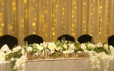 White Rectangle Table Cloths,