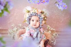 Sitter Floral Bonnets