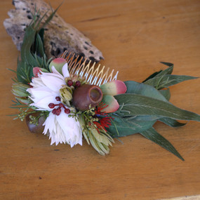 Australian Native Bridal Comb