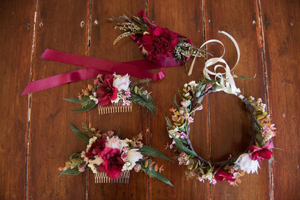 Floral Comb and Crowns