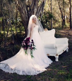 White Cinderella Vintage Chair