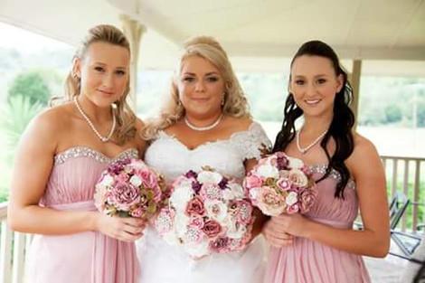 Vintage Glam Dusty Pink Wedding