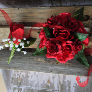 Formal Corsage and Buttonhole