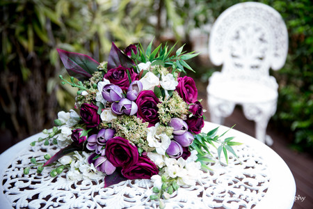 Unstructured Posy Bouquet
