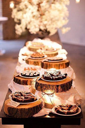 Rustic Cake Slab Hire