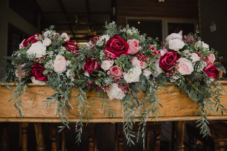 Rustic Styled Posy Bouquets