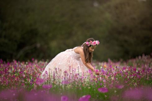 Junior Bridesmaid Flower Crown