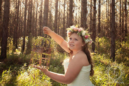 Photography Prop Flower Crown