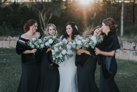 A Floral Bride Tribe!