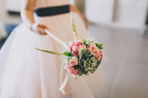Flower Girl Floral Wand