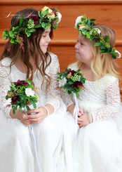 Flower Girl Crowns and Wands