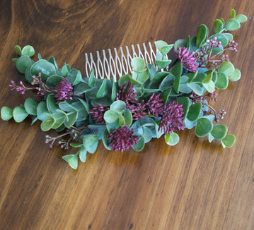 Bridal Flower Comb
