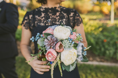 Artificial Bridesmaid Bouquet