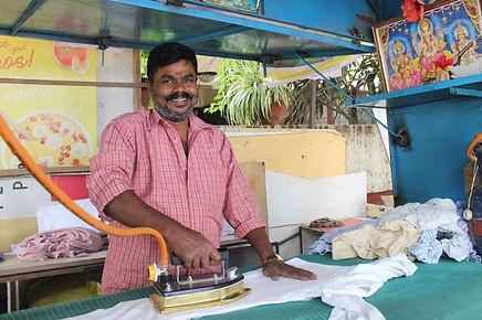 Udhyam Ironing Vyapari with LPG-ironing