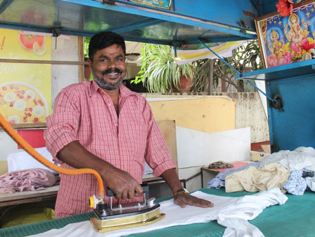 A small shift has helped 200+ Ironing Entrepreneurs in Bangalore have increased income