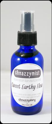 Sweet Earthy Flow shnazzymist Aromatherapy Body and Room Spray