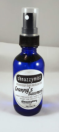 Granny's Basement Shnazzymist Aromatherapy Room and Body Spray