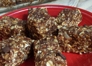 Rock your World Vegan Date and Nut Energy Bars