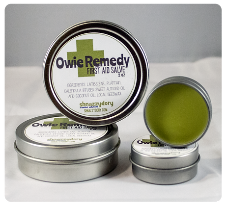 Owie Remedy First Aid Salve .5oz
