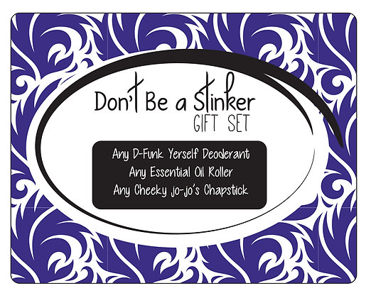 Don't be a STinKer  Gift Set