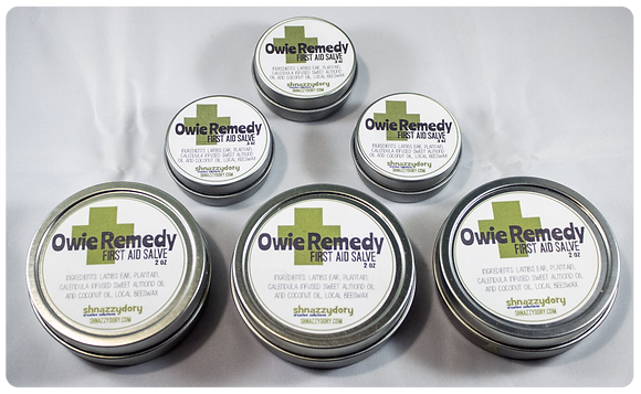 Owie Remedy First Aid Salve 2oz