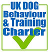 dog training and behaviour charter logo.