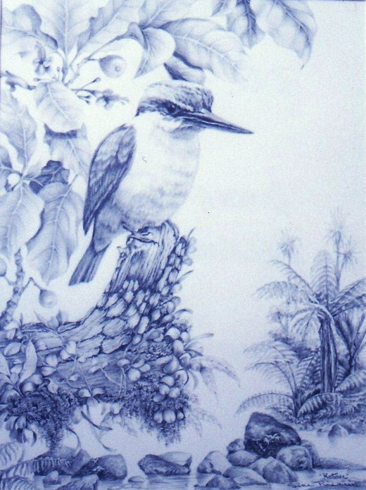 Pencil - Kingfisher - Kotare