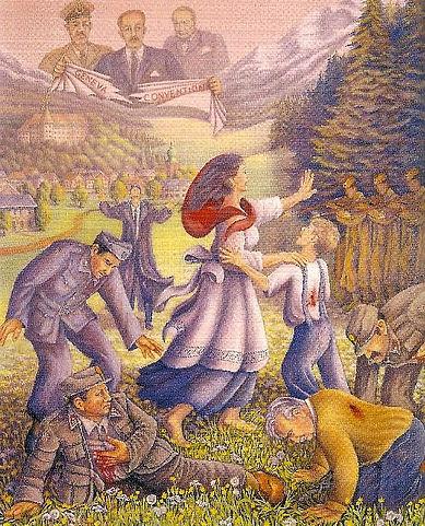 Painting Betrayal -Bleiburg