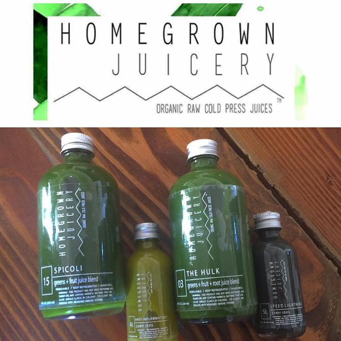 Wellness Wednesday- Home Grown Juice