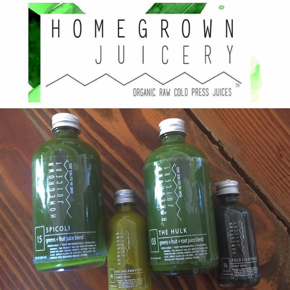 Wellness Wednesday- HomeGrown Juice