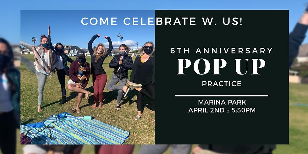 6th Anniversary :: Pop Up Class
