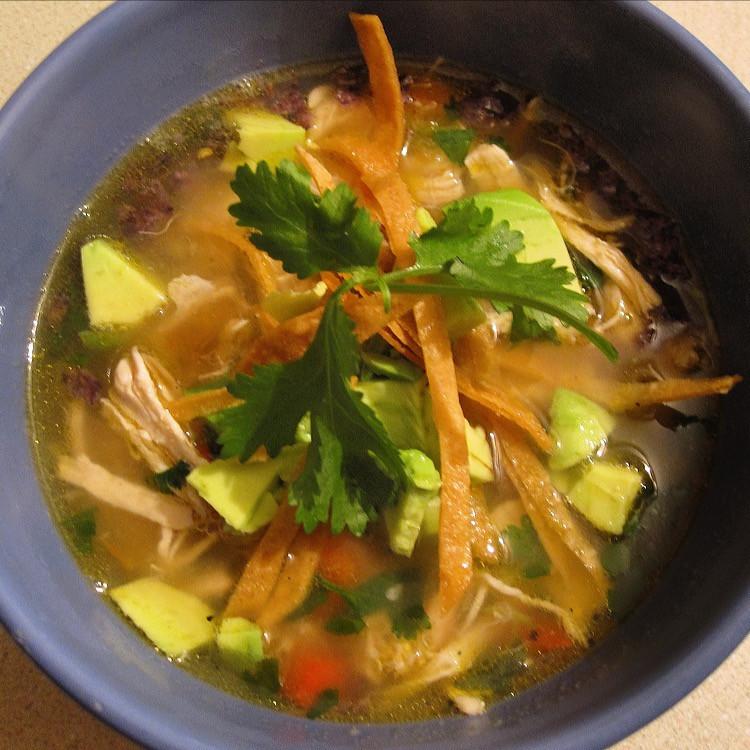 Clean Tortilla Soup