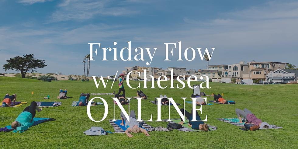 ONLINE: Friday Flow w/ Chelsea