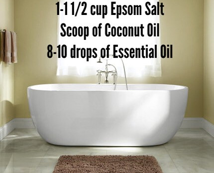 Wellness Wednesday- Epsom Salt