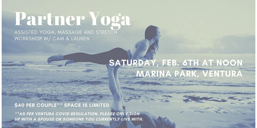 Partner Yoga, Stretching and Massage