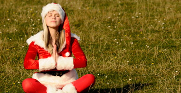 Yoga to keep Holiday stress away