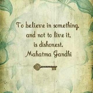 Yoga- Satya Quote- Mahatma Gandhi