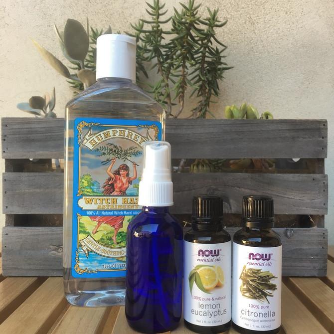 Wellness Wednesday- All Natural Bug Spray