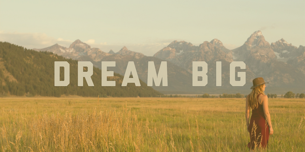 Dream Big: Create the Life You Want!