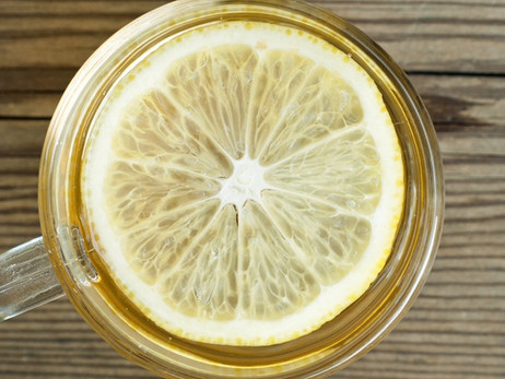 Wellness Wednesday- Warm Lemon Water