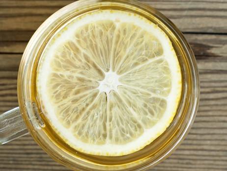 Wellness Wednesday- Warm Lemon Water