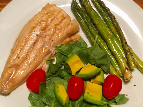 Wellness Wednesday- Freshly Caught Dinner